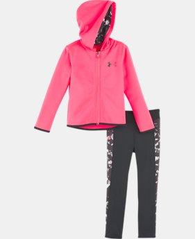UA Black Shattered - Ensemble pour fille, nourrisson, 1 couleur offerte $35.7
