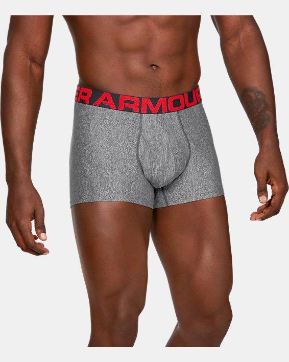 "Men's UA Tech™ 3"" Boxerjock®, Gray, pdpMainDesktop image number 0"