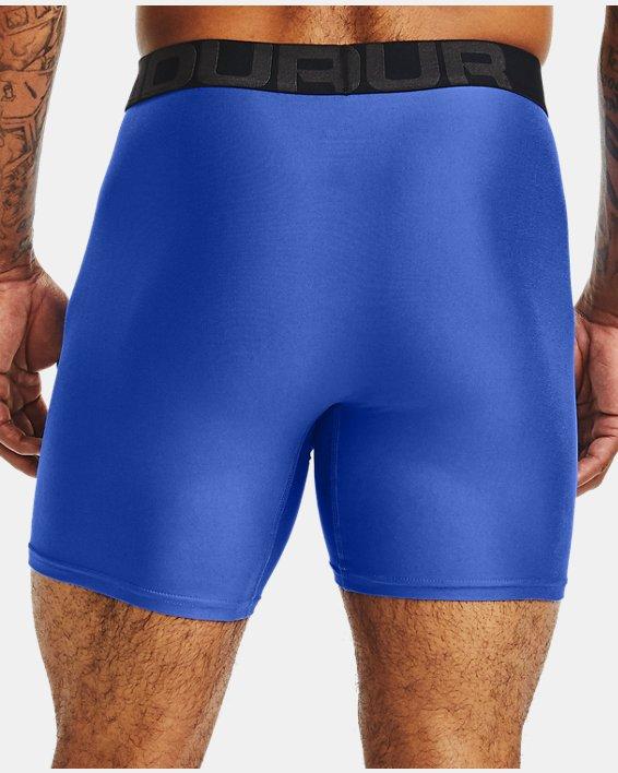 "Men's UA Tech™ 6"" Boxerjock®, Blue, pdpMainDesktop image number 1"