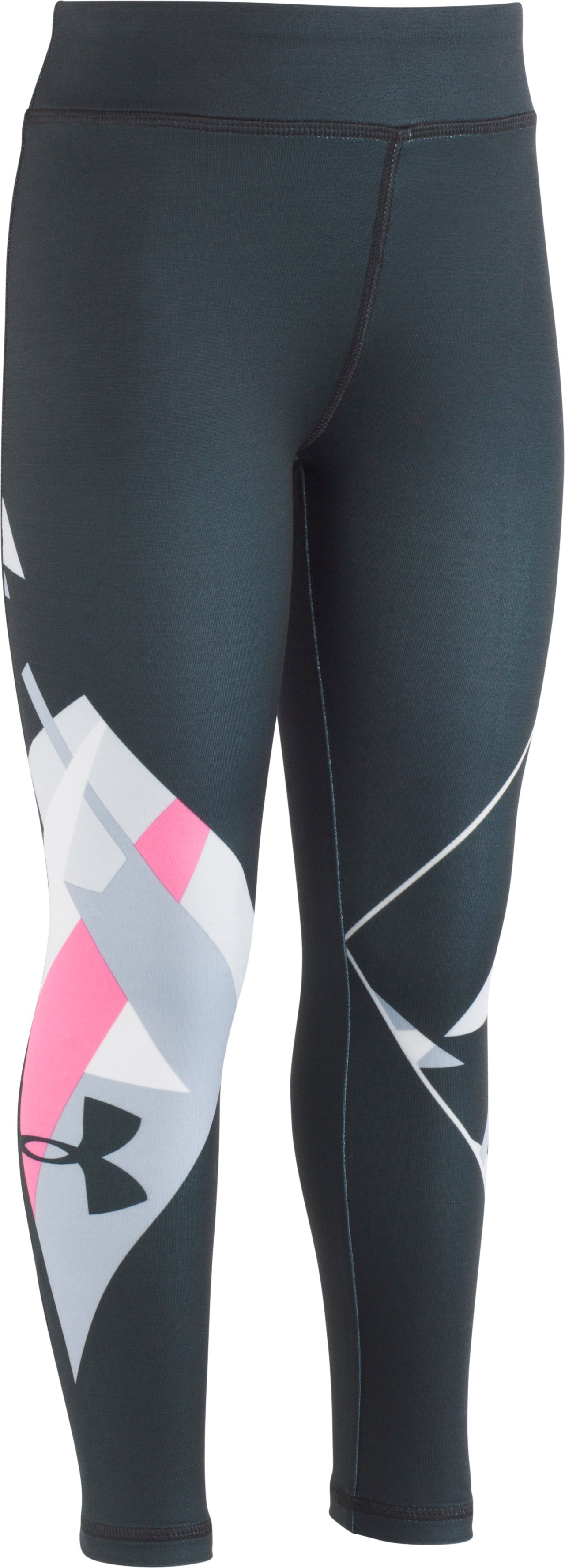 Girls' Toddler UA Infinity Leggings, Black