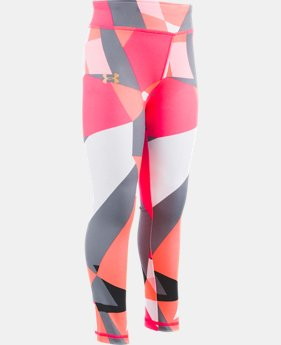 Girls' Pre-School UA Shatter Zoom Leggings  1  Color Available $35
