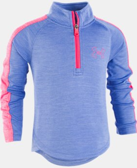 New Arrival Girls' Pre-School UA Tech™ ¼ Zip  2  Colors Available $35