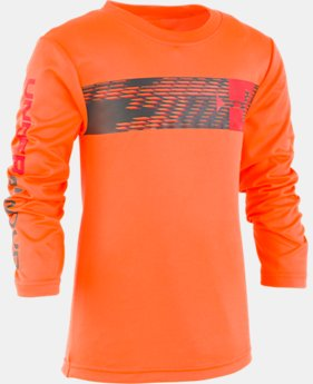 New Arrival Boys' Infant UA Travel Logo Long Sleeve  2  Colors Available $21