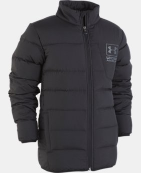 New Arrival Boys' UA Swarmdown Jacket   1  Color Available $105