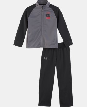 New Arrival Boys' Infant UA On The Mark Track Set   1  Color Available $38