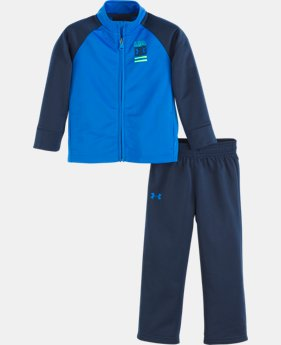 New Arrival Boys' Infant UA On The Mark Track Set   2  Colors Available $38
