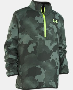 New Arrival  Boys' UA Cloudspin Reversible ¼ Zip   1  Color Available $76