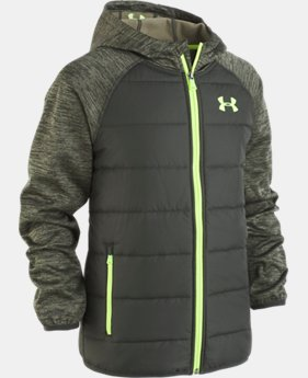 New Arrival Boys' UA Day Trekker Hooded Jacket   1  Color Available $85