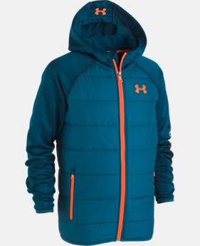 New Arrival Boys' UA Day Trekker Hooded Jacket   3  Colors Available $85