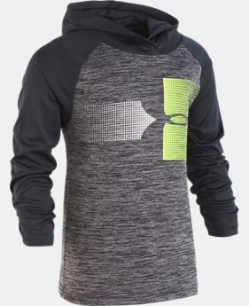 Boys' Toddler UA Twist Raglan Hoodie  1  Color Available $33