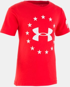 New Arrival Boys' Toddler UA Freedom Short Sleeve  1  Color Available $18