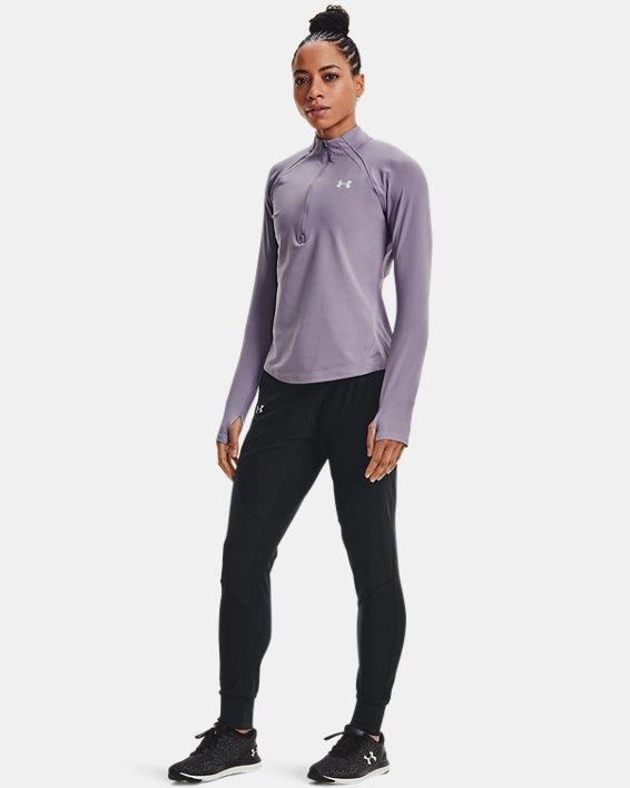 Women's UA Qualifier Speedpocket Pants, Black, pdpMainDesktop image number 1