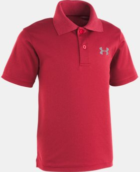 Boys' Pre-School UA Match Play Heather Polo  1  Color Available $29
