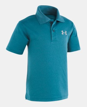 0ad2d6f2d Boys  Toddler UA Match Play Heather Polo 2 Colors Available  29