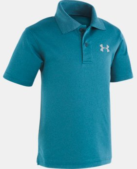 New Arrival Boys' Toddler UA Match Play Heather Polo  2  Colors Available $29