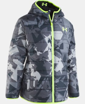 Boys' Toddler UA Printed Reversible Pronto Puffer Jacket  1  Color Available $85