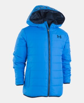 pretty nice 8b958 1b38c Boys  Toddler UA Pronto Puffer Jacket 3 Colors Available  37.99 to  49.99