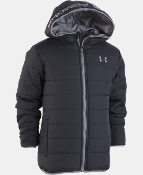 Boys' Pre-School UA Pronto Puffer Jacket  3  Colors Available $62