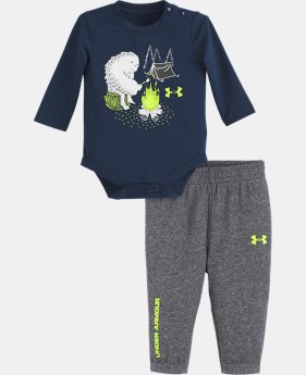 New Arrival  Boys' Newborn UA Yeti Camping Set  1  Color Available $40