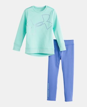 76441bfd84b Girls' Toddler UA Big Logo Tunic Set 2 Colors Available $35.99