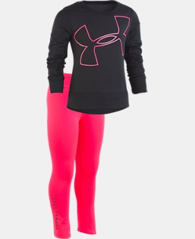 Girls' Pre-School UA Big Logo Tunic Set  1  Color Available $47