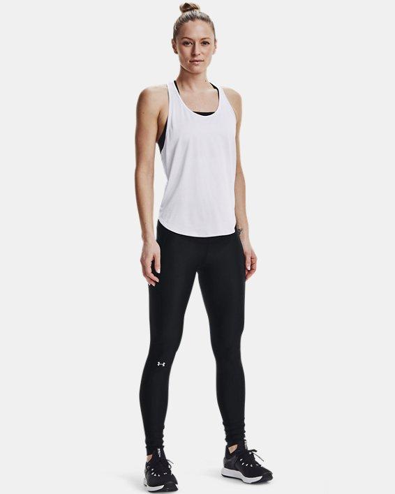 Women's HeatGear® Armour Branded WB Leggings, Black, pdpMainDesktop image number 1