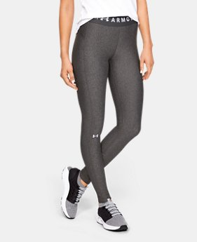 4356448b641c3 New to Outlet Women's HeatGear® Armour Branded Waistband Leggings 1 Color  Available $33.99