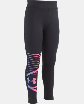 New Arrival Girls' Toddler UA Finale Leggings  1  Color Available $30