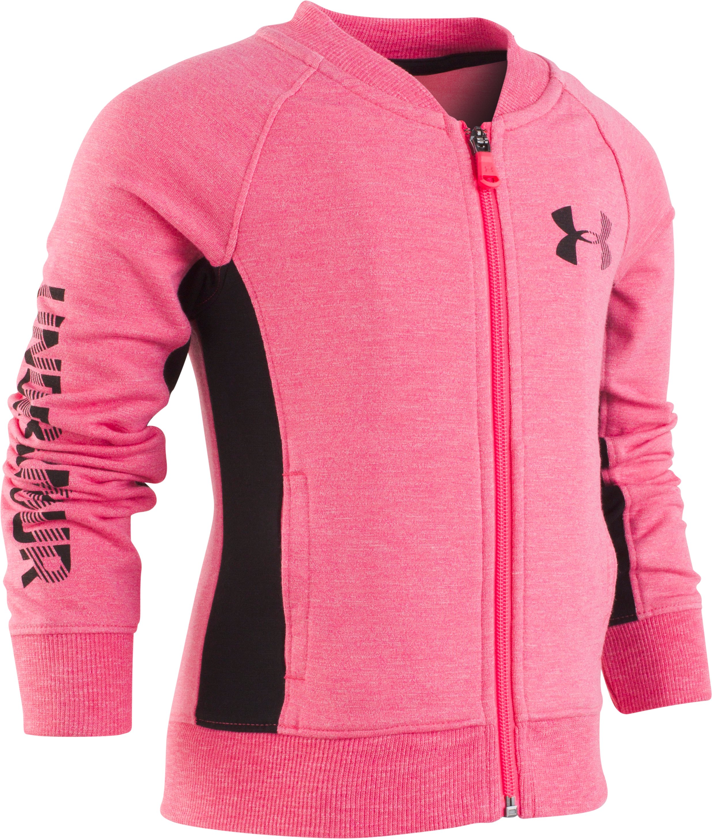 Girls' Pre-School UA Elevated Bomber Jacket 1 Color $28.50