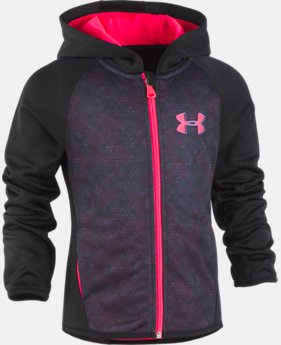 Girls' Infant UA Razor Full Zip Hoodie LIMITED TIME ONLY 1  Color Available $28.7