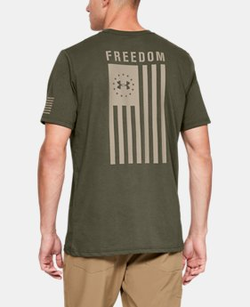 dcb316f1 Men's UA Freedom Flag T-Shirt $25