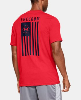 f619648d293946 Men s UA Freedom Flag T-Shirt FREE U.S. SHIPPING 12 Colors Available  25