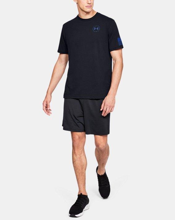 Men's UA Freedom Express T-Shirt, Black, pdpMainDesktop image number 1