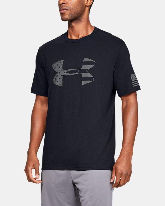 Men's UA Freedom Tonal BFL T-Shirt, Black, pdpMainDesktop image number 0