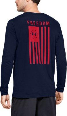 Under Armour Mens WWP Freedom Flag Long Sleeve Shirt