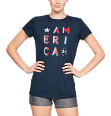 40f81242 Women's UA Freedom Flag 2.0 T-Shirt | Under Armour US