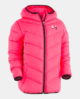 2629b4d6be3 Girls' Pre-School UA Mallowpuff Down Jacket 1 Color Available $75.99. 1  Color Available. Penta Pink