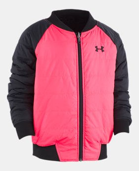 5585e1f05 New to Outlet Girls' UA Reversible Bomber Jacket 2 Colors Available $42.99