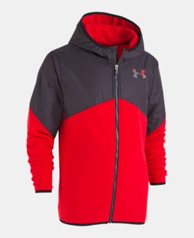 separation shoes c5e16 0f08f New to Outlet Boys  UA North Rim Microfleece Jacket 1 Color Available   27.99 to  35.99