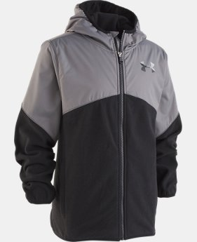 New Arrival Boys' UA North Rim Microfleece Jacket  1  Color Available $55