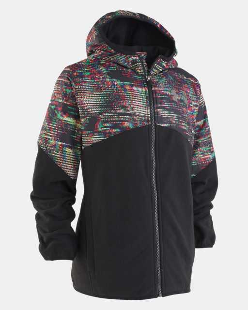 Boys' Pre-School UA Printed North Rim Microfleece Jacket