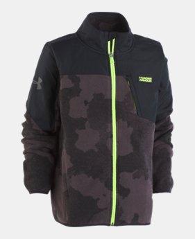 cc5349546ebf Boys  Pre-School UA Storm Battlefleece™ Printed Jacket 1 Color Available   56.99
