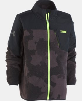 Boys' UA Storm Battlefleece™ Printed Jacket   1  Color Available $70