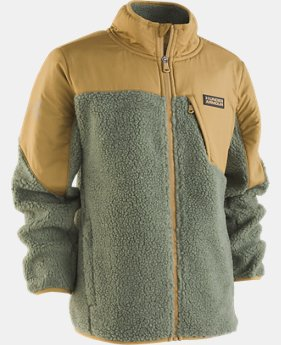 New Arrival  Boys' Pre-School UA Storm Tanuk Sherpa Jacket   1  Color Available $88