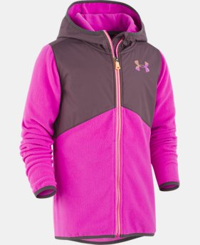 New Arrival  Girls' UA Canyon Rim Microfleece Jacket   1  Color Available $65