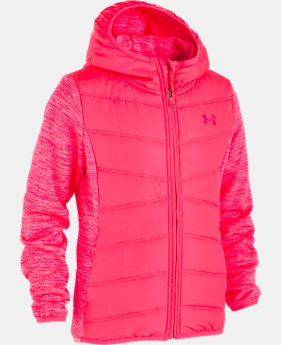 New Arrival  Girls' UA Minaret Vista Jacket   2  Colors Available $100