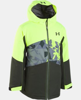 New Arrival Boys' Pre-School UA Zumatrek Jacket   1  Color Available $110