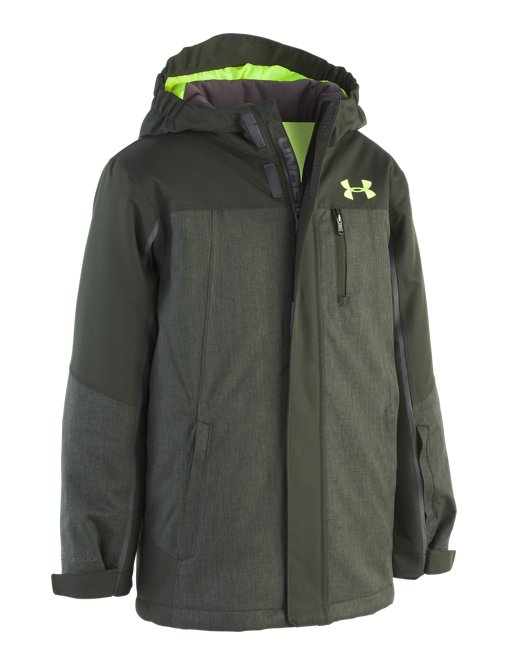 2552b1495 This review is fromBoys' UA Bushwack Jacket.