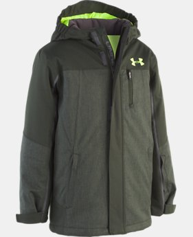 New Arrival Boys' UA Castlerock Jacket   2  Colors Available $155