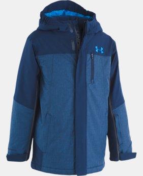 New Arrival  Boys' Pre-School UA Castlerock Jacket   1  Color Available $160